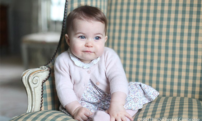 A new flower has been named after Princess Charlotte.