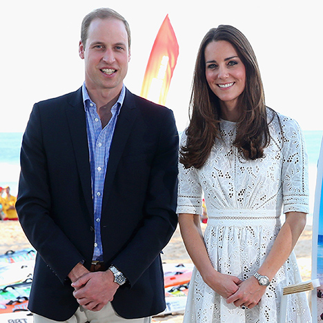 Prince William and Kate will attend the Chelsea Flower Show on May 23.