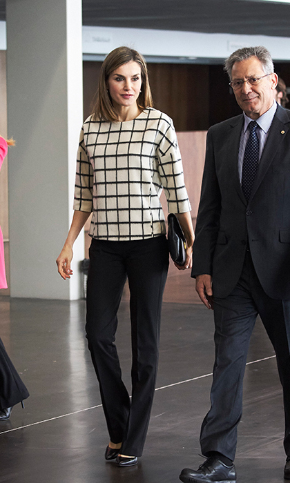 Queen Letizia of Spain.
