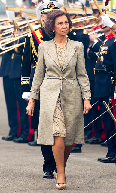 Queen Sofia of Spain.