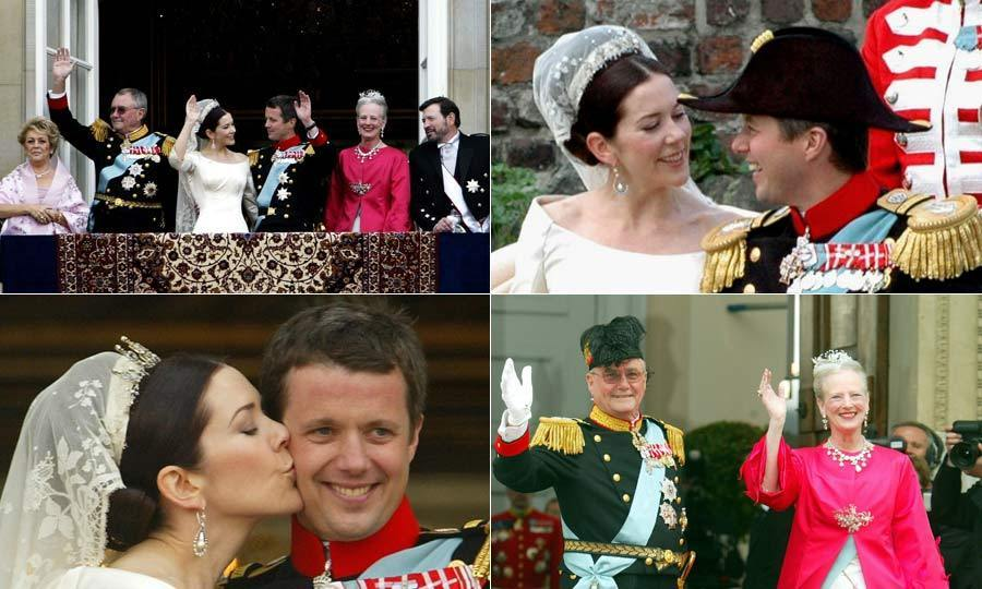 After four years of dating, Crown Prince Frederik of Denmark married law graduate Mary Donaldson in a fairytale wedding ceremony in Copenhagen. Here we look back at the best moments from their special day. 