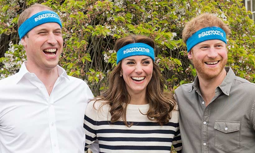 "The royal squad's latest project is one of their biggest yet! They have teamed up to promote Heads Together, an initiative that hopes to ""change the national conversation on mental wellbeing,"" says the palace. 