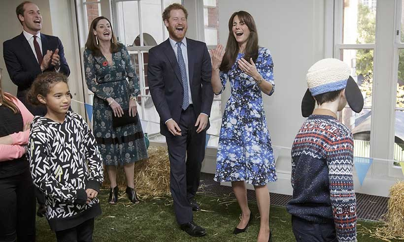 Laughter is guaranteed when these three royals attend engagements together. 