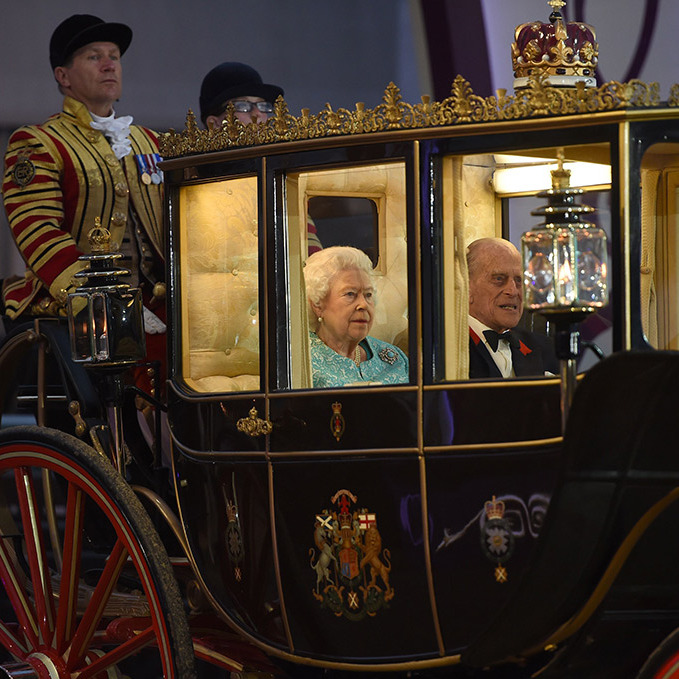 The show featured 1,500 performers, 900 horses and told the story of the life of the Queen.
