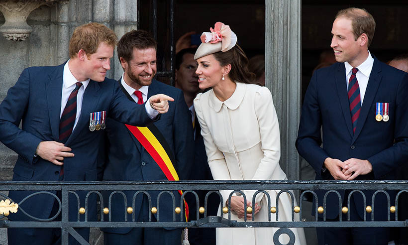Kate's sense of humour comes in handy with a jokester brother-in-law like Prince Harry. 