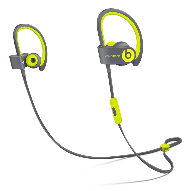<strong>Beats Powerbeats 2 Wireless In-Ear Headphones Active Collection in Yellow</strong>, $220, apple.com