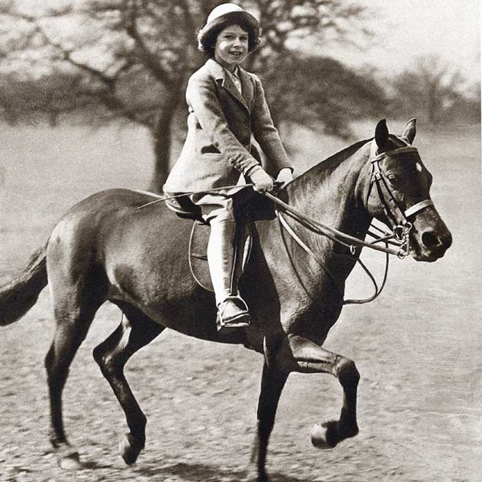 The Queen's admiration for all things equestrian started when she was only four years old. It was then that the future monarch was gifted a Shetland pony named Peggy. Over the years, Britain's longest reigning monarch has owned dozens of steeds, including many championship winning race horses. 