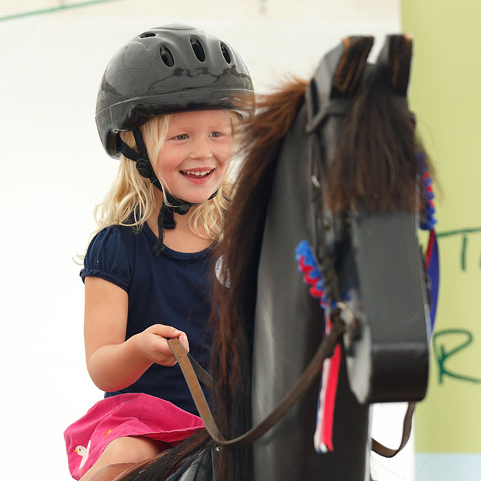 Peter and Autumn Phillips' first-born daughter Savannah spends much of her free time watching her aunt Zara compete in eventing competitions. To help kick-start her niece's equestrian career, Zara gave her a Shetland pony to call her own. 