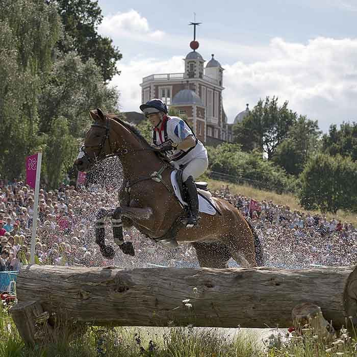 Zara's performance at the 2012 Summer Olympics in London earned the royal a silver medal in team eventing. 