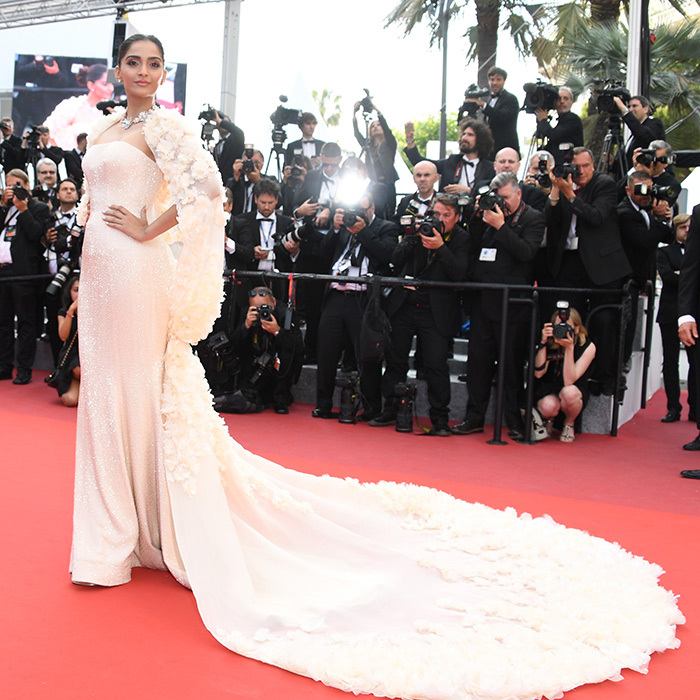 Sonam Kapoor in Ralph and Russo.