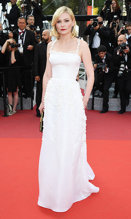 Kirsten Dunst in Dior.