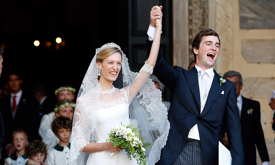 Elisabetta and Prince Amedeo married in July 2014.