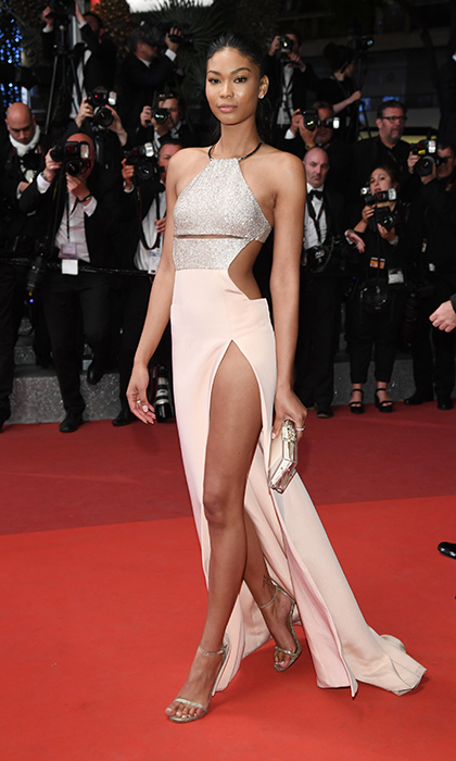 Chanel Iman in KaufmanFranco.