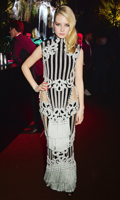 Lottie Moss in Balmain.