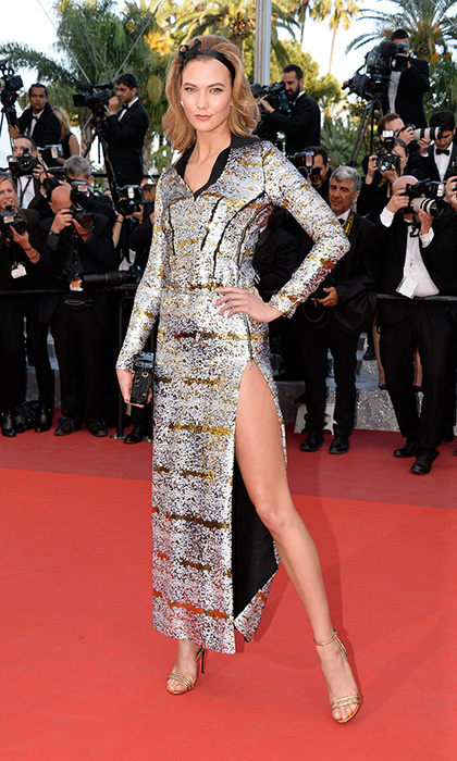 Karlie Kloss in Louis Vuitton.