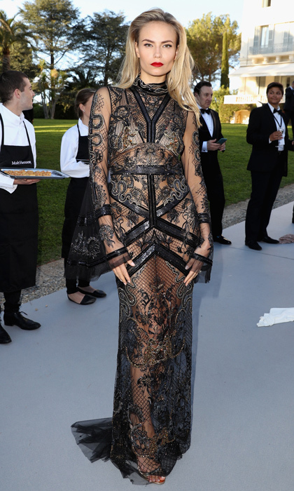 Natasha Poly in Roberto Cavalli 