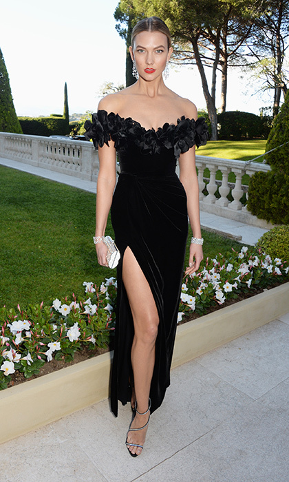 Karlie Kloss in Marchesa