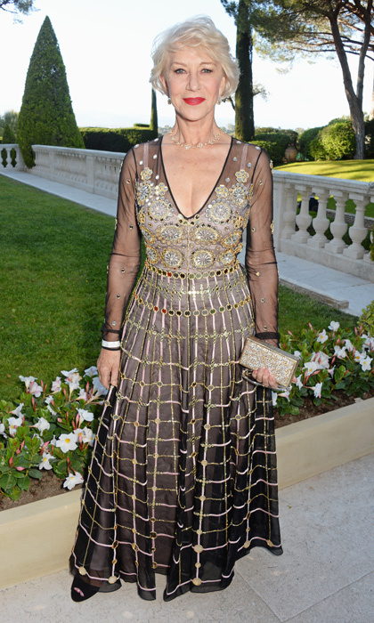 Helen Mirren in Temperley London