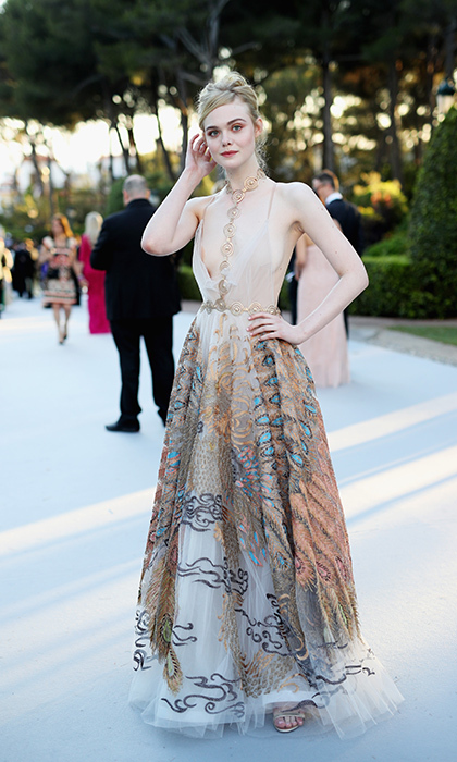 Elle Fanning in Valentino