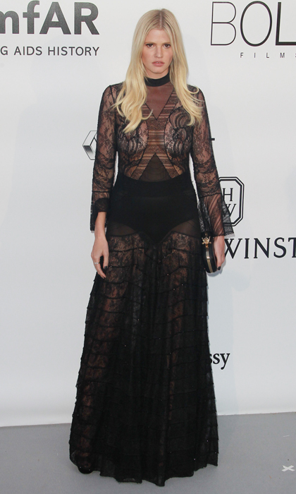 Lara Stone in Givenchy