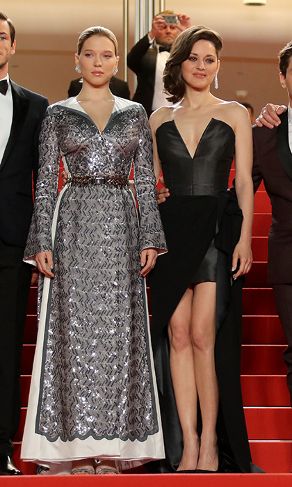 Lea Seydoux and Marion Cotillard