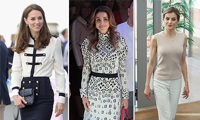 See which of our favourite royals stepped out in style this week...
