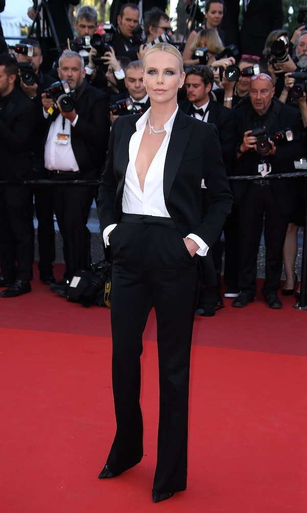 Charlize Theron in Dior Couture.