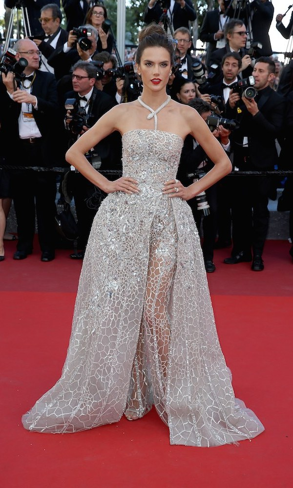 Alessandra Ambrosio in Zuhair Murad.