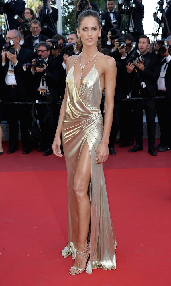 Izabel Goulart in Alexandre Vauthier.