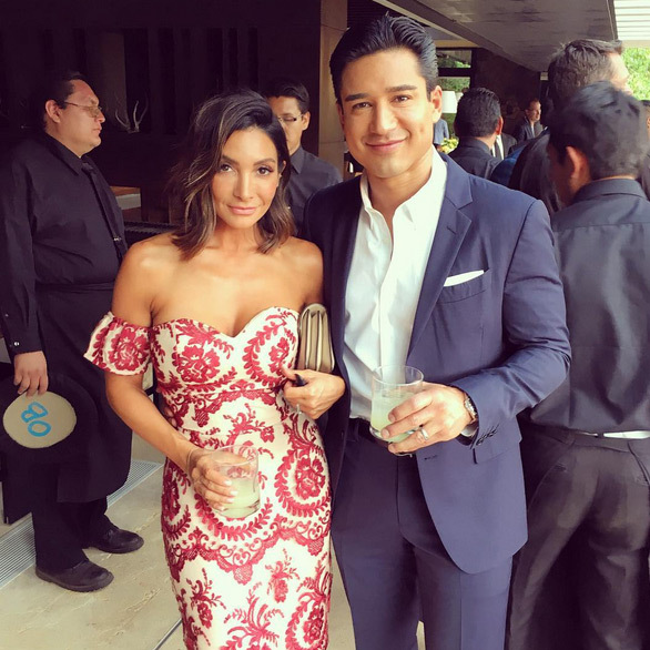 "Mario Lopez: ""I had the hottest date all weekend & I'm taking her home with me...