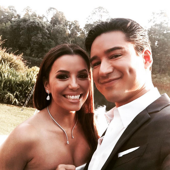 "Mario Lopez: ""The bride to be was radiant all weekend...