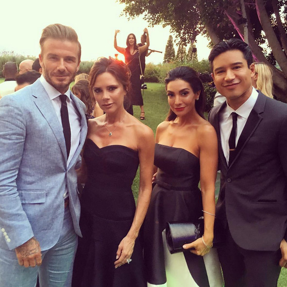 "Mario Lopez: ""Partied all weekend with the coolest couple...