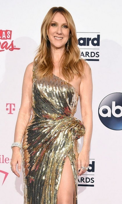 Celine is back in Las Vegas to accept the Icon Award.
