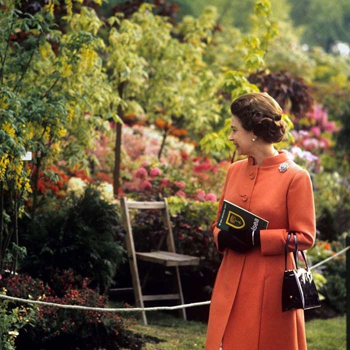 Queen Elizabeth is a regular at the Chelsea Flower Show, taking in the breathtaking array of blooms as often as she can. Now in its 103rd year, the annual floral extravaganza sees a host of celebrities and royals mingling on the grounds of the Royal Hospital Chelsea to take in the prestigious feast for the eyes, put on by the Royal Horticultural Society. 