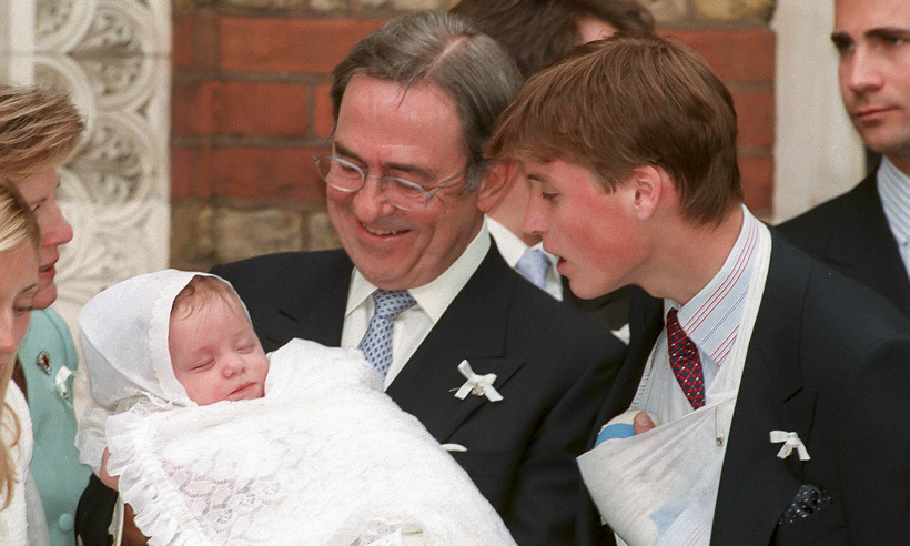 <b>The Duke of Cambridge</b> is the godfather of....