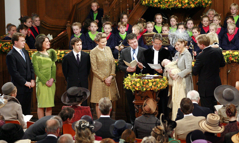 <b>Queen Mathilde of Belgium</b> is the godmother of....