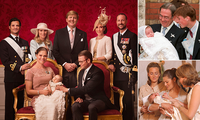 When the time comes to select a godparent for their newborn child, royal parents often look to members of other monarchies to take on the important role.  