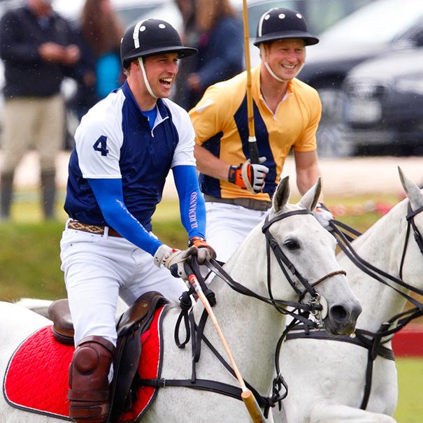 To date, William and Harry have helped raise $18 million for charities through various polo tournaments. 
