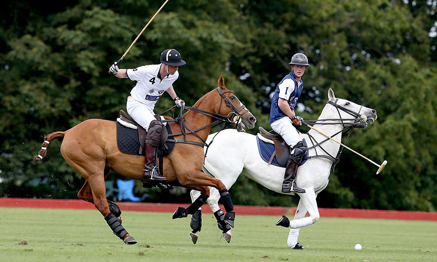 The fixtures kick off this weekend, with William and Harry taking to the field at the private Audi Polo Challenge. 