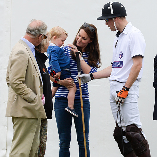 Kate attended the Festival of Polo last June with Prince George. 