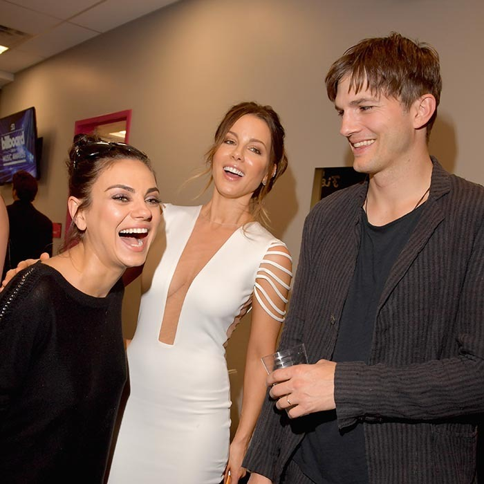 They aren't musicians but that didn't stop Mila Kunis, Kate Beckinsale and Ashton Kutcher from having a blast at the 2016 Billboard Music Awards in Las Vegas. 