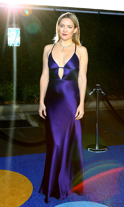 An Amanda Wakeley-clad Kate Hudson dazzled at the  Kaleidoscope Ball in Los Angeles. 