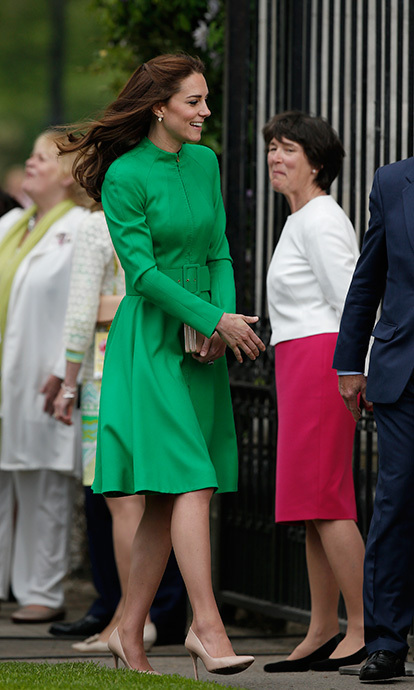 The Duchess of Cambridge at the Chelsea Flower Show.