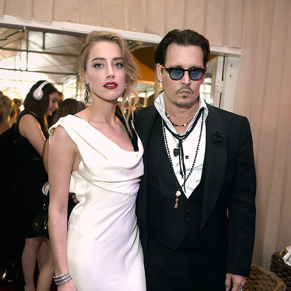 Johnny Depp and Amber Heard have split after 15 months of marriage. Photo: © Getty Images