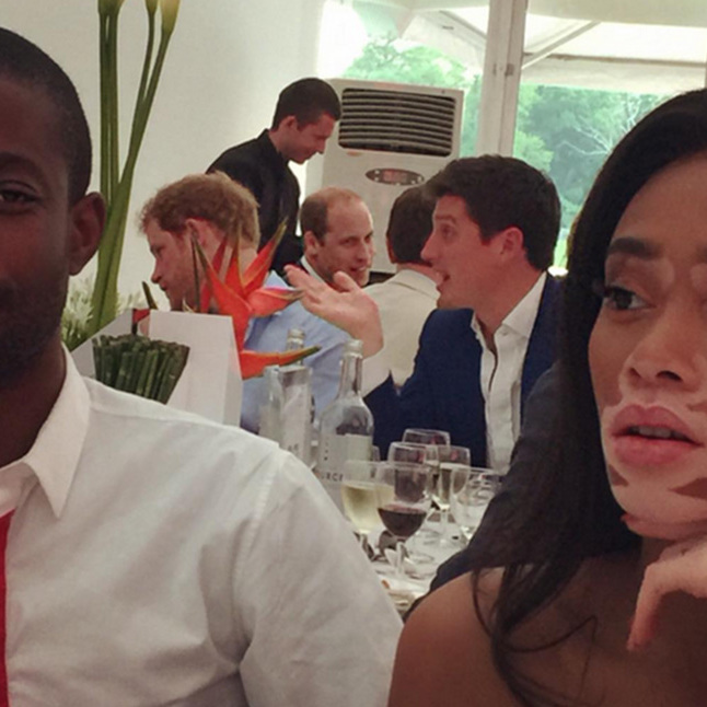 Canadian Model Winnie Harlow Shares Ultimate Prince Harry