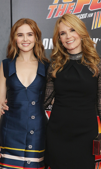<h2>Lea Thompson and Zoey Deutch</h2>