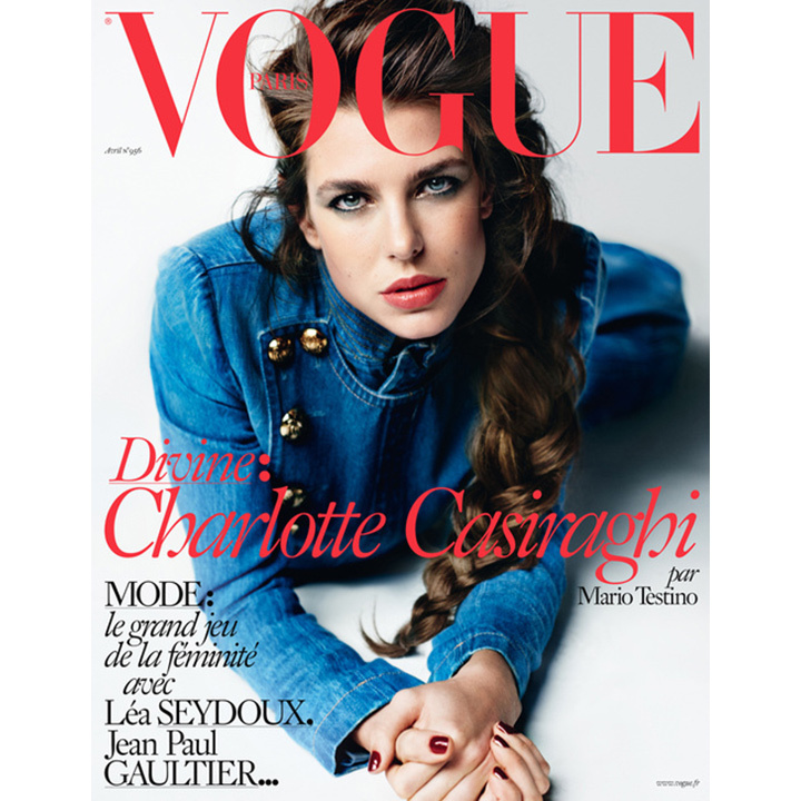 Charlotte made news again in 2013 when she modelled for Mario Testino in <i>Vogue Paris</i>'s April 2013 issue. 