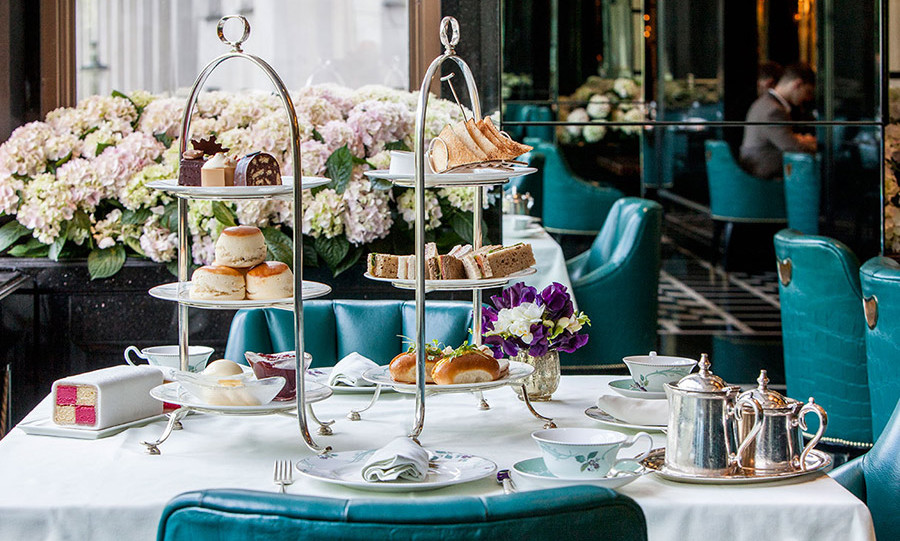 Darren has created a special afternoon tea at The Savoy hotel in London.