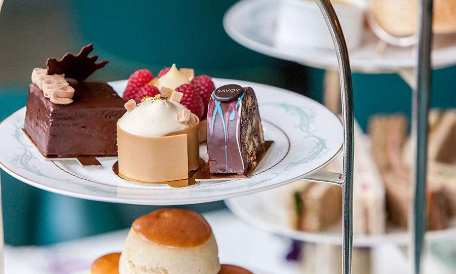 Dishes include some of the Queen's favourite food including chocolate biscuit cake.