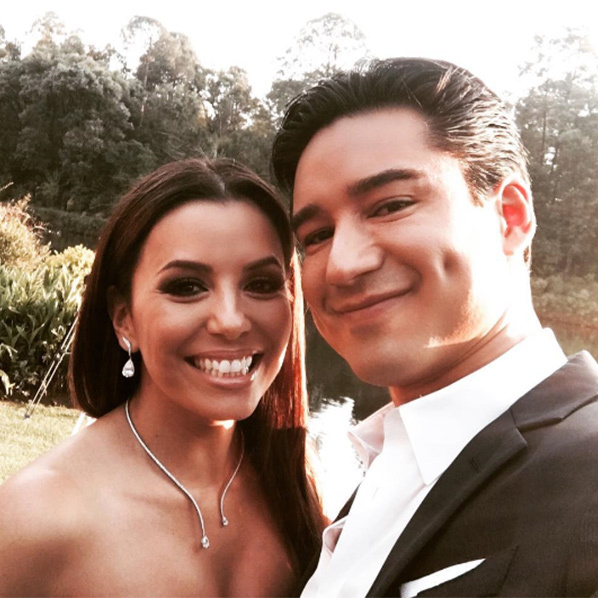 Mario Lopez has opened up about Eva Longoria's wedding to Pepe Baston.